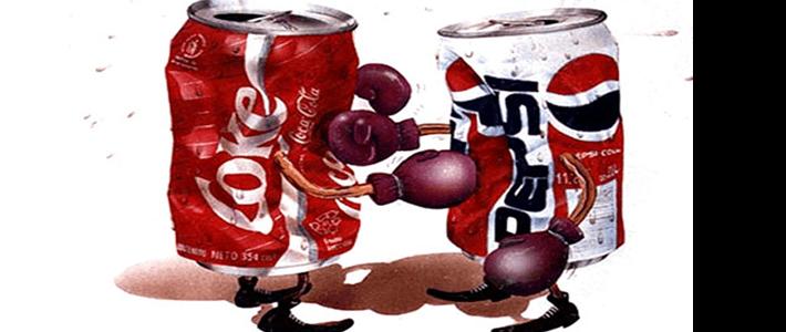 コーラとペプシ