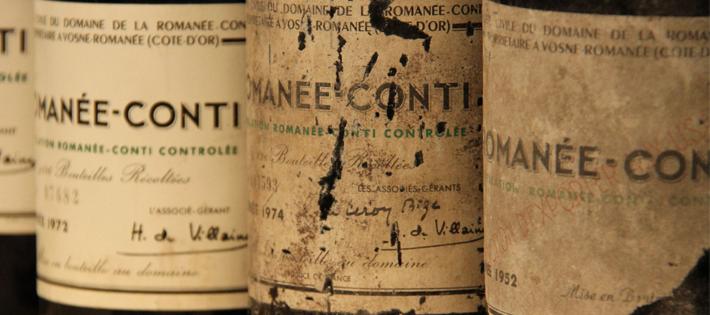 世界一値段の高い『ワイン/ロマネコンティ1945』