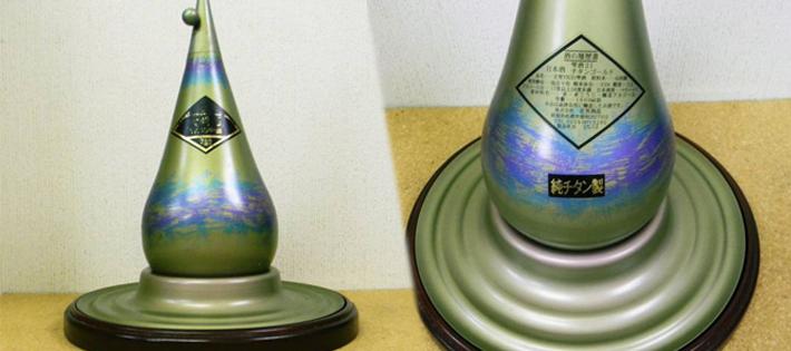 世界一値段の高い『日本酒/大吟醸 YK35雫酒チタンゴールド』