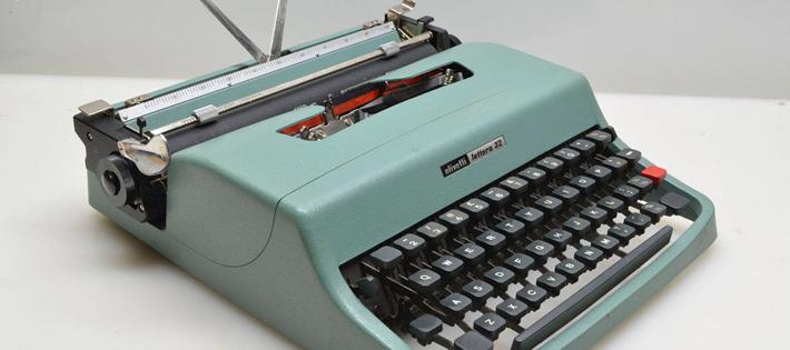 世界一高価な「タイプライター」