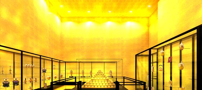 黄金の部屋